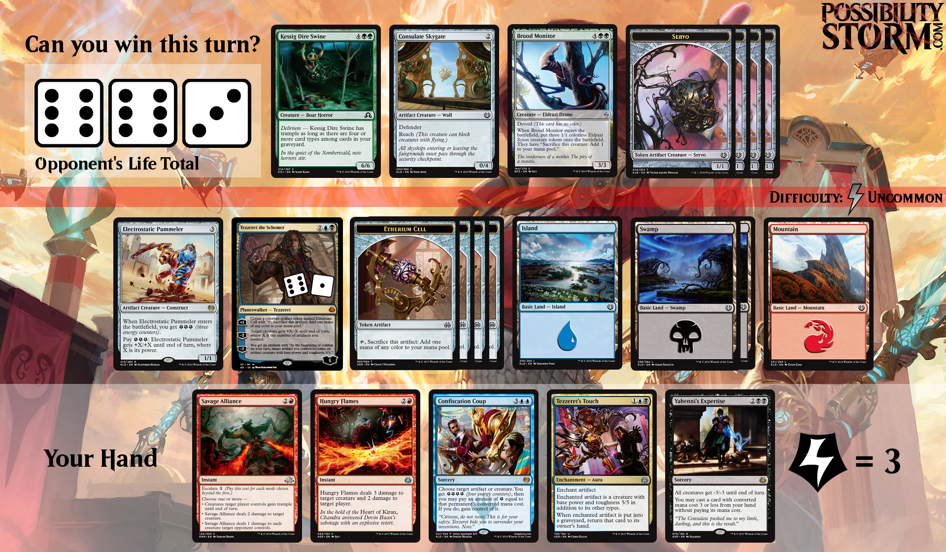 Possiblity Storm - Aether Revolt Puzzle #2