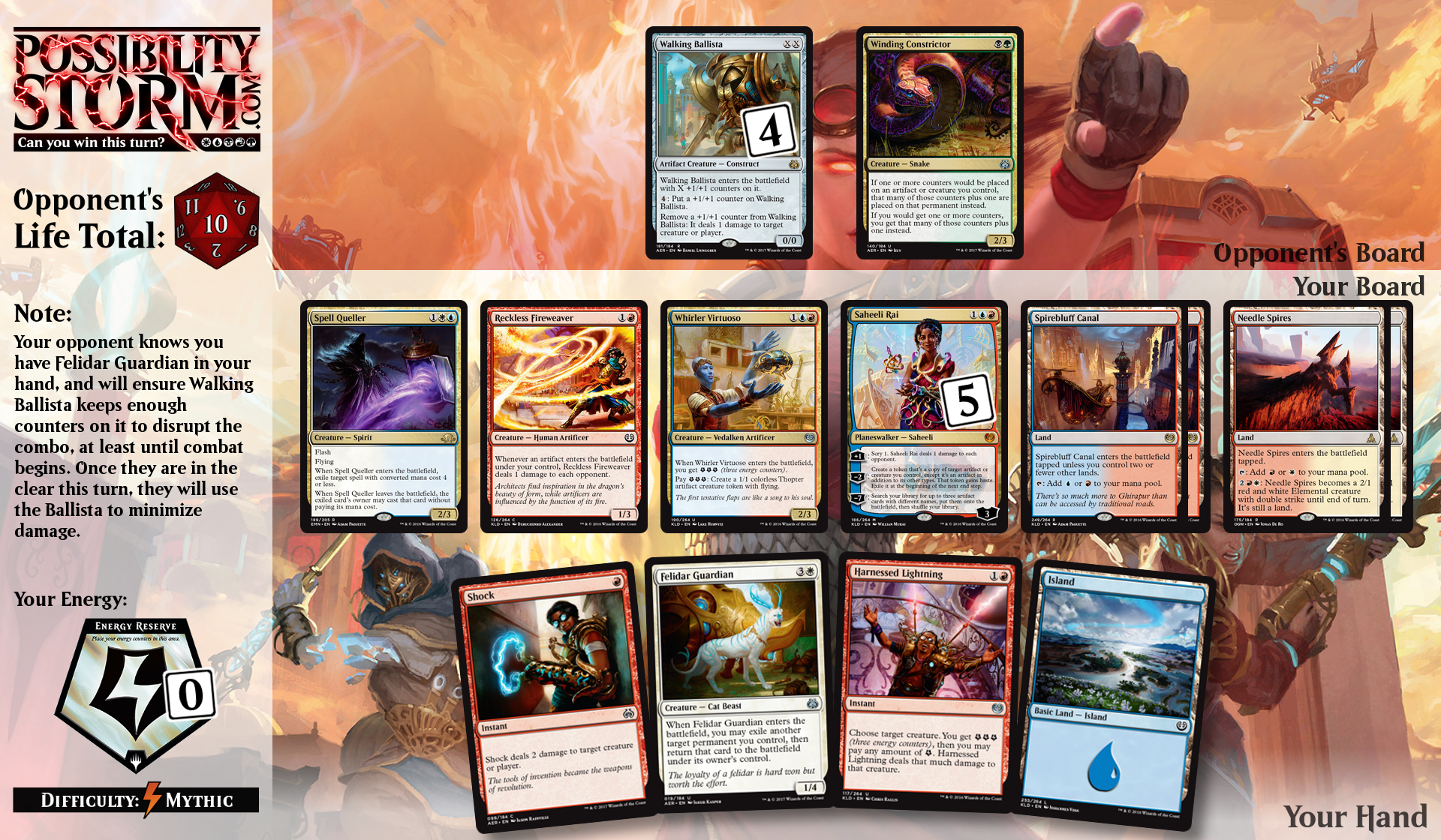 Possiblity Storm - Aether Revolt Puzzle #6