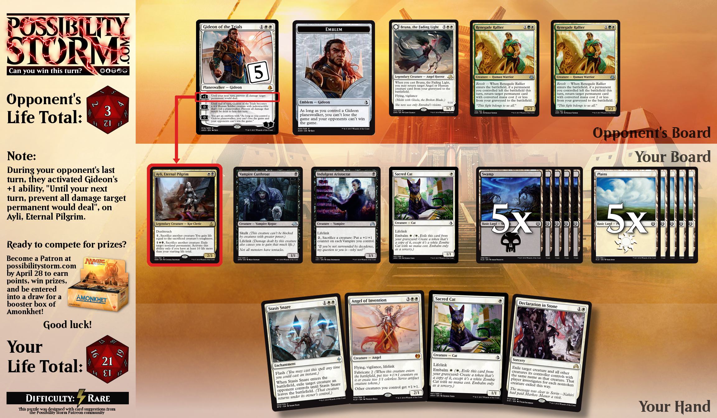 Possiblity Storm - Aether Revolt Puzzle #7