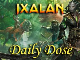 Daily Dose of Ixalan – Separating the Color Pie – Volume 3 – Dinosaurs