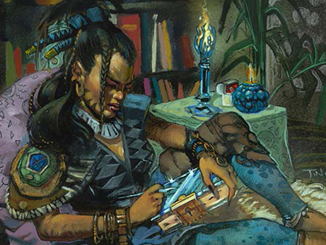 Rhystic Study Roon Of The Hidden Realm | MTGMintCard