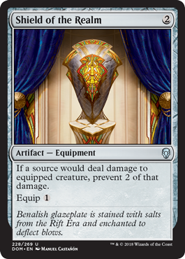 Daily Dose of Dominaria – The Equipment of Dominaria, more than