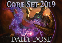 Daily Dose of Core 2019 – Combat tricks and Removal Cards by Color