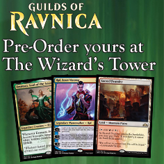 Pre-Order your Guilds of Ravnica Singles #AtTheTower!