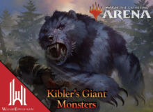 Kibler's Giant Monsters Red Green Dinosaurs and Friends Magic Arena - Cinott MTG