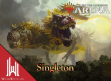 Singleton 5-Color Dragons + Friends - Magic Arena - Cinott MTG