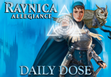 Daily Dose of Ravnica Allegiance - Having the foresight to play Simic