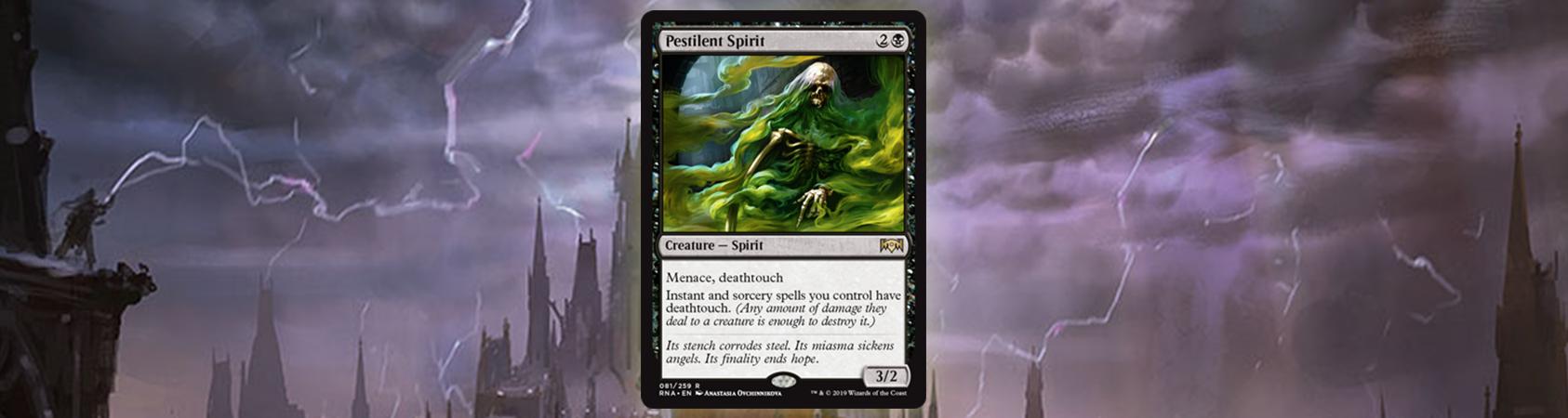 Pestilent Spirit's Storm