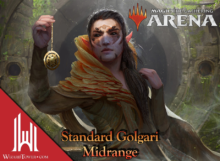Standard Golgari Midrange Magic Arena #2 - Cinott MTG