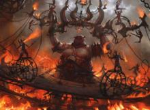 Treasure Constructed - 5-Colour Mono Red Cavalcade - MTGArena - ChompydaChupacabra