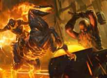 Standard Cavalier Fires - Magic Arena - Cinott