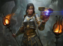 Theros Beyond Death After Party Elspeth - Magic Arena - Cinott