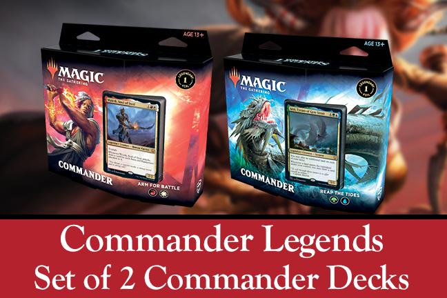 Commander Legends Set of 2 Commander Decks