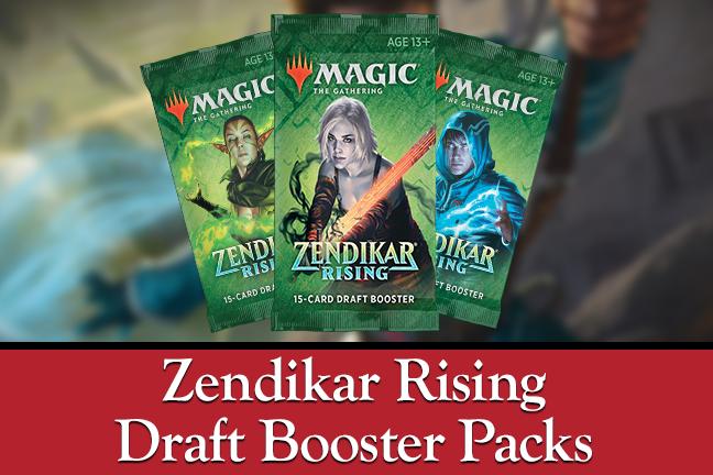Zendikar Draft Packs